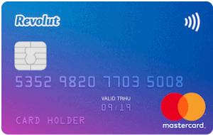 En bild på Revolut kortet Standard